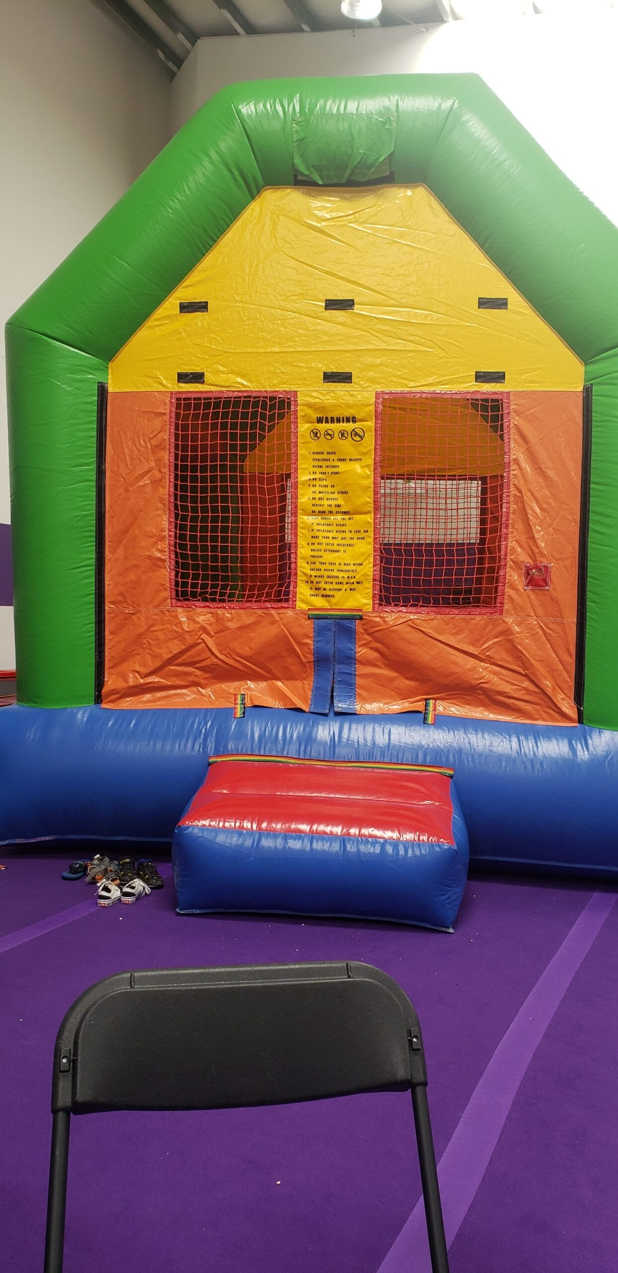 Bounce house ages 3+ $150 per event